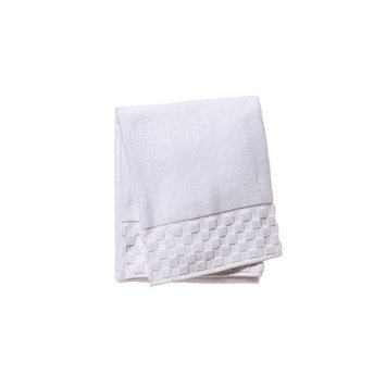 Jacaranda Living Bath Towel Color: White