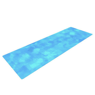 Kess Inhouse Convenience by CarolLynn Tice Yoga Mat