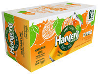 Hansen's® Natural Cane Mandarin Lime Soda 8-12 fl. oz. Cans