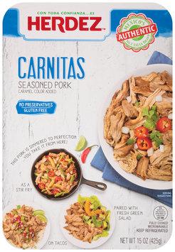 Herdez™ Carnitas Seasoned Pork 15 oz. Package