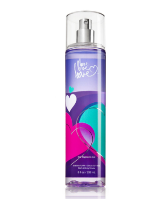 Bath & Body Works® Love love love Fragrance Mist