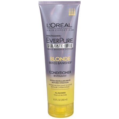 L'Oréal® Paris Hair Expertise™ EverPure Sulfate-Free Blonde Brass Banisher™ Conditioner 8.5 fl. oz. Tube