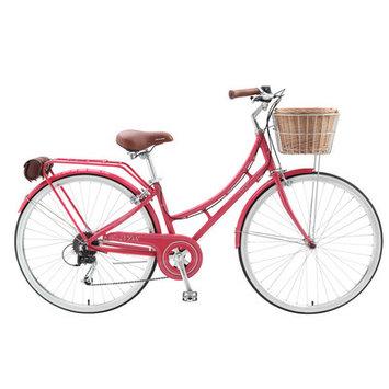 Xds Bikes Co. Women's Nadine 7-Speed Cruiser Bike Color: Watermelon