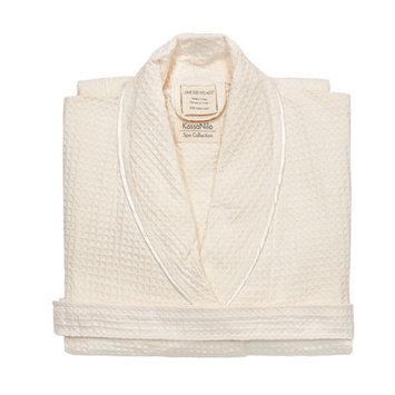 Kassatex Kassanilo Collection Bath Robe: Shawl Beige