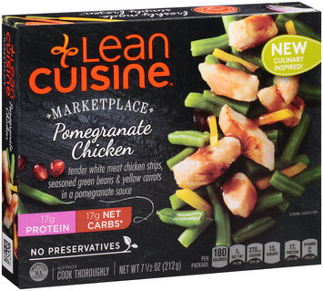 LEAN CUISINE MARKETPLACE Pomegranate Chicken 7.75 oz Box