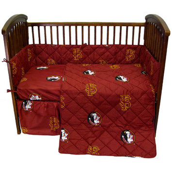 College Covers FSUCS FSU 5 piece Baby Crib Set