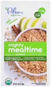 Plum Organics® Apple Cinnamon Mighty Mealtime™ Organic Oatmeal + Ancient Grains 1.05 oz. Pouch