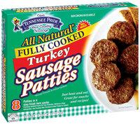 Tennessee Pride Turkey Sausage Patties 8 Oz Box