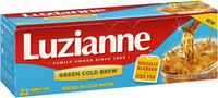 Luzianne® Green Cold Brew Tea Bags 22 ct. Bag.