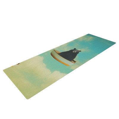 Kess Inhouse Bears by Natt Floating Animals Yoga Mat