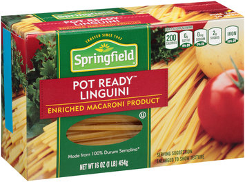 Springfield® Pot Ready™ Linguini 16 oz. Box