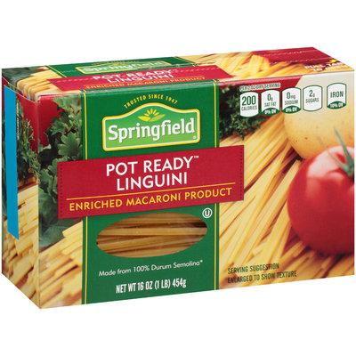 Springfield® Pot Ready™ Linguini 16 oz. Box