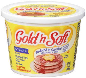 Gold 'n Soft® Reduced Calorie 40% Vegetable Oil Spread 15 oz. Tub