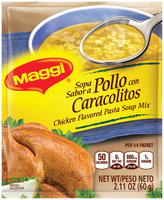 MAGGI Chicken Flavored Pasta Soup Mix 2.11 oz. Packet