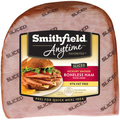 Smithfield Anytime Favorites™ Sliced Hickory Smoked Boneless Ham Pack