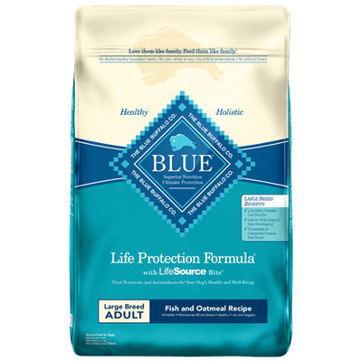THE BLUE BUFFALO CO. BLUE™ Life Protection Formula® Fish and Oatmeal Recipe For Large Breed Adult Dogs