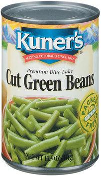Kuner's Cut Premium Blue Lake Green Beans 14.5 Oz Can