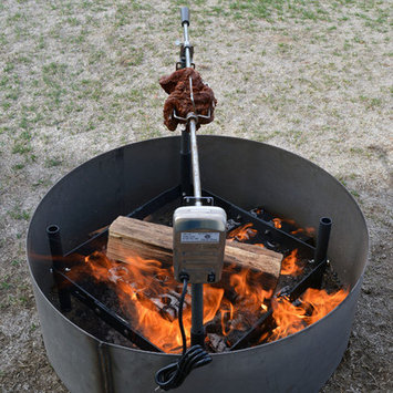 Firebuggz Plug N Play Electric Rotisserie Kit