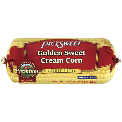 PICTSWEET Southern Style Golden Sweet Cream Corn 16 OZ CHUB