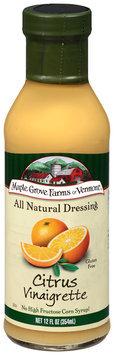 Maple Grove Farms of Vermont® Citrus Vinaigrette Dressing 12 fl. oz. Bottle
