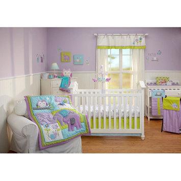NoJo Dreamland 4-Piece Crib Bedding Set