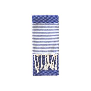Nine Space Aegean Hand Towel, 31 x 15, True Blue, 1 ea
