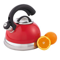 Creative Home Symphony Tea Kettle Pomegranate Red