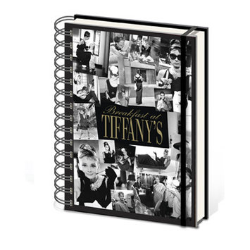 Ace Framing Audrey Hepburn Breakfast at Tiffany's A5 Notebook