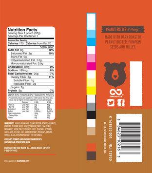 Bear Naked® Peanut Butter & Honey Granola Bites 1.3 oz. Bag