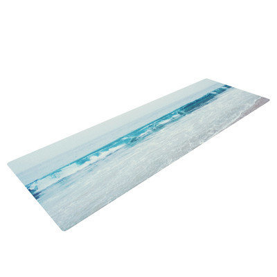 Kess Inhouse Crystal Clear by Nastasia Cook Ocean Wave Yoga Mat