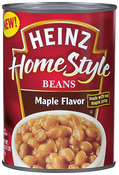 HEINZ Maple Flavor HomeStyle Beans 16 OZ CAN