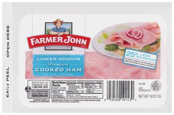 Farmer John® Lower Sodium Cooked Ham 16 oz. Pack