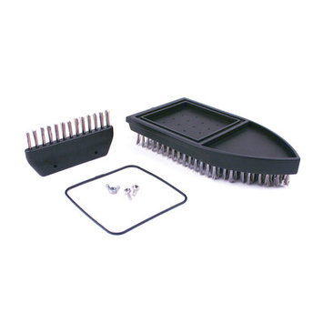 The Grill Daddy Brush C Grill Daddy Brush GD80294 Pro Corner Cleaner Replacement Brush