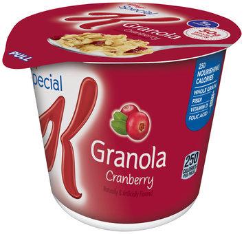 Special K® Kellogg's Cranberry Granola