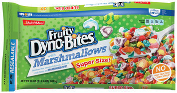 Malt-O-Meal® Fruity Dyno-Bites® with Marshmallows Cereal 38 oz. Bag