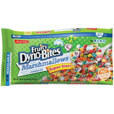 Malt-O-Meal® Fruity Dyno-Bites® with Marshmallows Cereal 38 oz. Bag