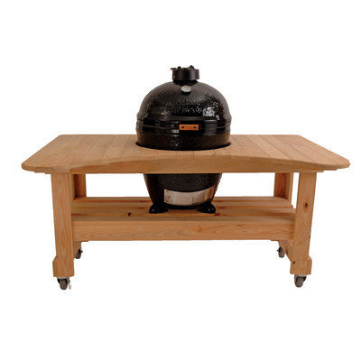 Primo Wooden Table For Kamado Cypress 601