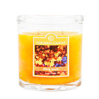 Fragranced in-line Container CC008.2107 8oz. Oval Falling Leaves