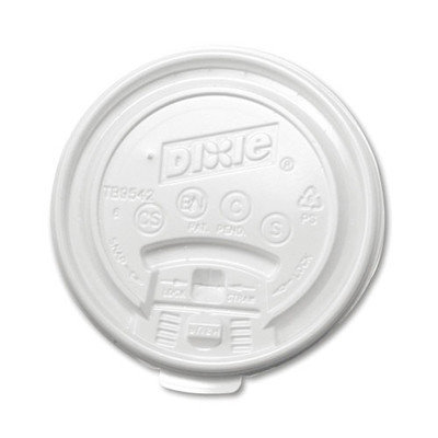 Dixie Plastic Lids for Hot Drink Cup (1000 Per Carton)