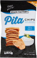 Snack Factory® Sea Salt Pita Chips 6 oz. Bag