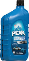Peak® SAE 10W-40 Conventional Motor Oil 1 qt. Bottle