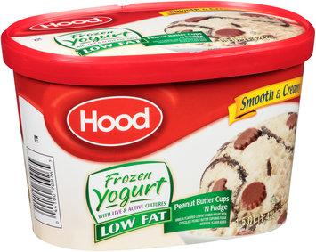 Hood® Low Fat Peanut Butter Cups 'N Fudge Frozen Yogurt 1.5 qt. Carton