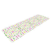 Kess Inhouse Neon Triangles by Empire Ruhl Yoga Mat