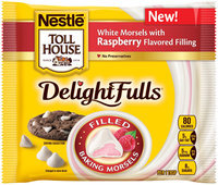 Nestlé® Toll House® DelightFulls White Morsels with Raspberry Flavored