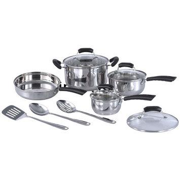 Sunpentown HK-1111 11 Piece Stainless Steel Cookware Set