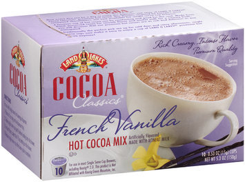 Land O'Lakes® Cocoa Classics® French Vanilla Hot Cocoa Mix 5.3 oz Box