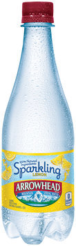Arrowhead® Sparkling Lemon Mountain Spring Water 0.5L Plastic Bottle