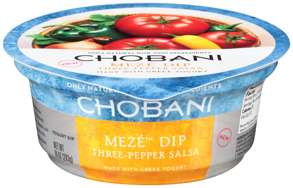 Chobani® Meze™ Three-Pepper Salsa Greek Yogurt Dip