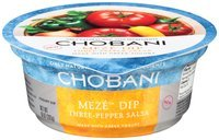 Chobani Meze™ Three-Pepper Salsa Greek Yogurt Dip 10 oz. Tub