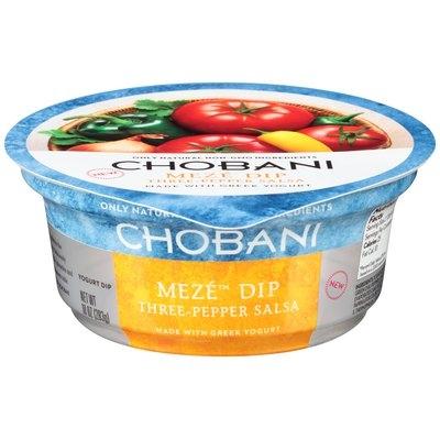 Chobani Meze™ Three-Pepper Salsa Greek Yogurt Dip 10 oz. Tub